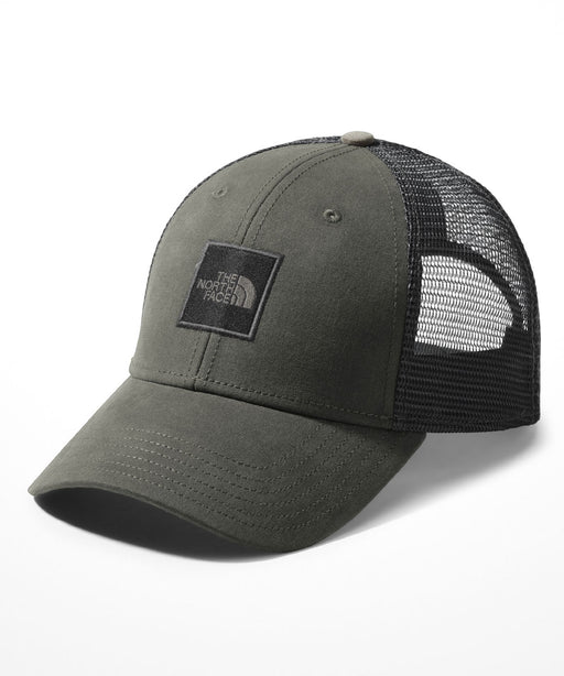 TNF Box Logo Trucker Cap - New Taupe Green/TNF Black