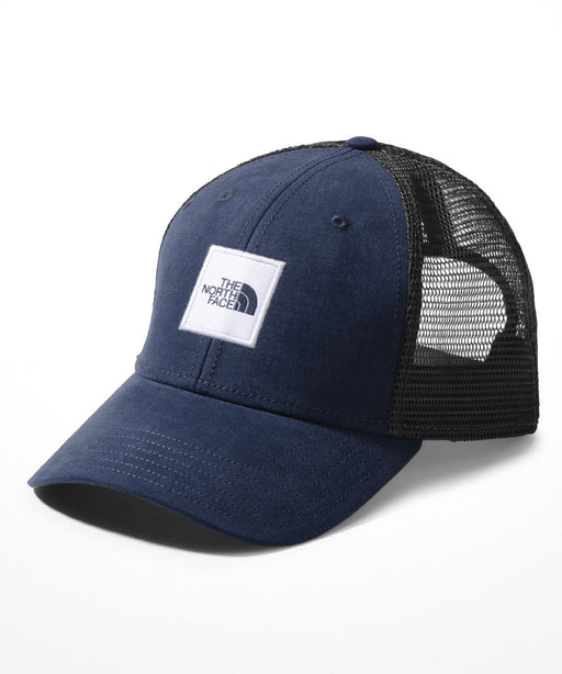 TNF Box Logo Trucker Cap - Urban Navy/TNF White