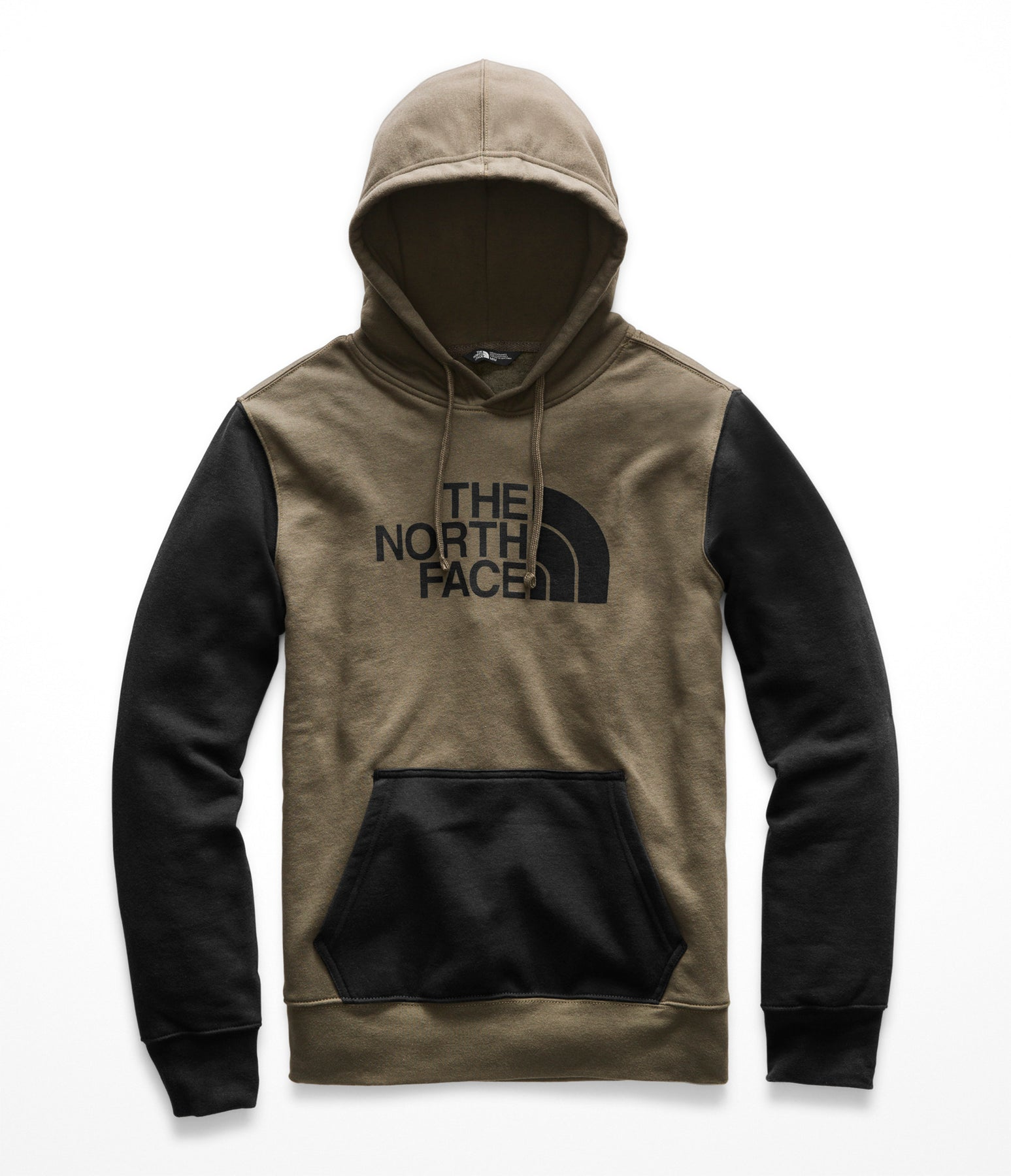 8d2e3b0a5 The North Face Men's Half Dome Pullover Hoodie - New Taupe Green / TNF Black