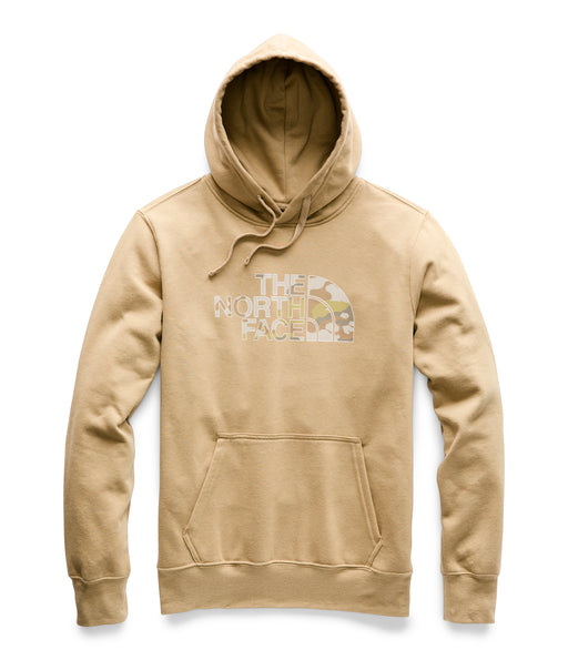 The North Face Men's Half Dome Pullover Hoodie - Kelp Tan / Moab Khaki Woodchip Camo