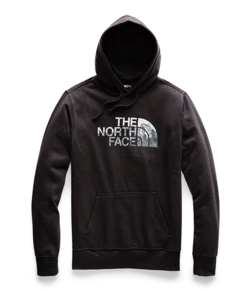 The North Face Men's Half Dome Pullover Hoodie - TNF Black / TNF Black Multi
