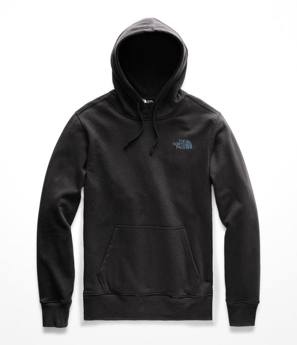 The North Face Men's Red Box Logo Hooded Sweatshirt - TNF Black / Iridescent Multi