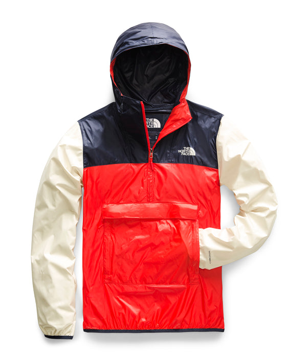 The North Face Men's Fanorak Jacket - Fiery Red/Urban Navy/Peyote Beige