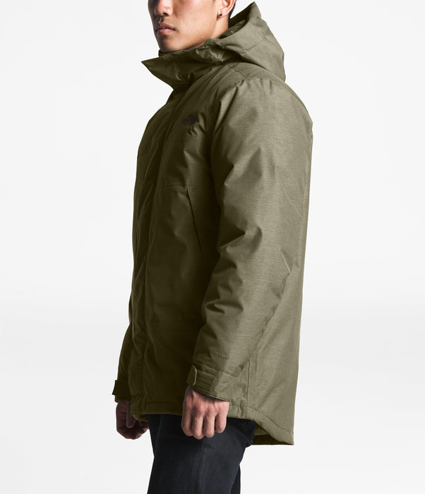 The North Face Men's Shielder Parka - New Taupe Green Heather