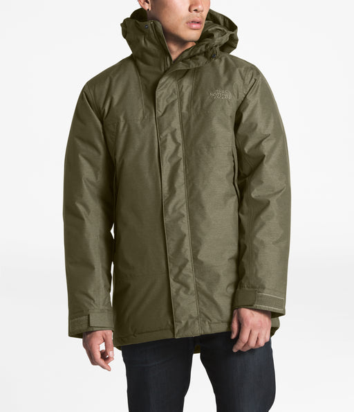 The North Face Men's Shielder Parka in New Taupe Green Heather at Dave's New York
