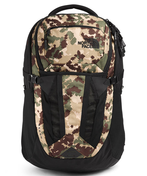 The North Face Recon Backpack - Burnt Olive Green Camo