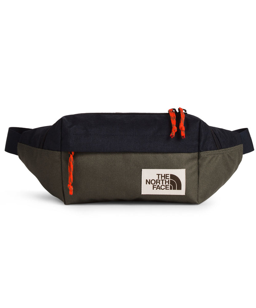 The North Face Lumbar Pack in Aviator Navy/New Taupe Green at Dave's New York