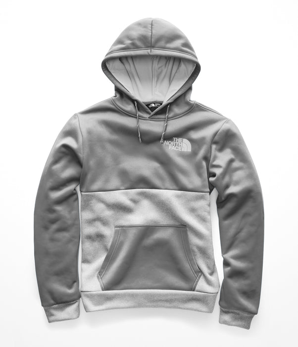 741615a41 The North Face Men's Surgent Block Pullover Hoodie - Mid Grey / TNF Light  Grey Heather