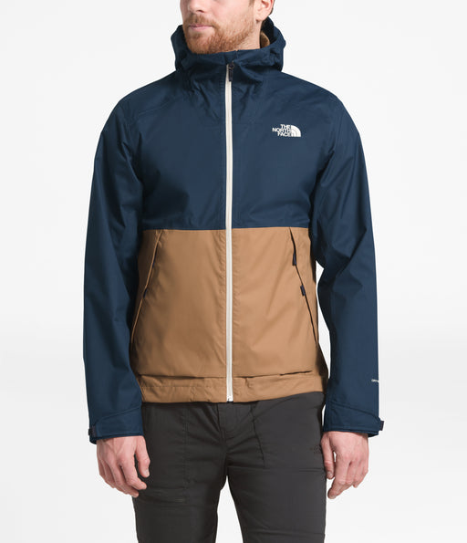The North Face Men's Millerton Waterproof Jacket in Urban Navy/Cargo Khaki at Dave's New York