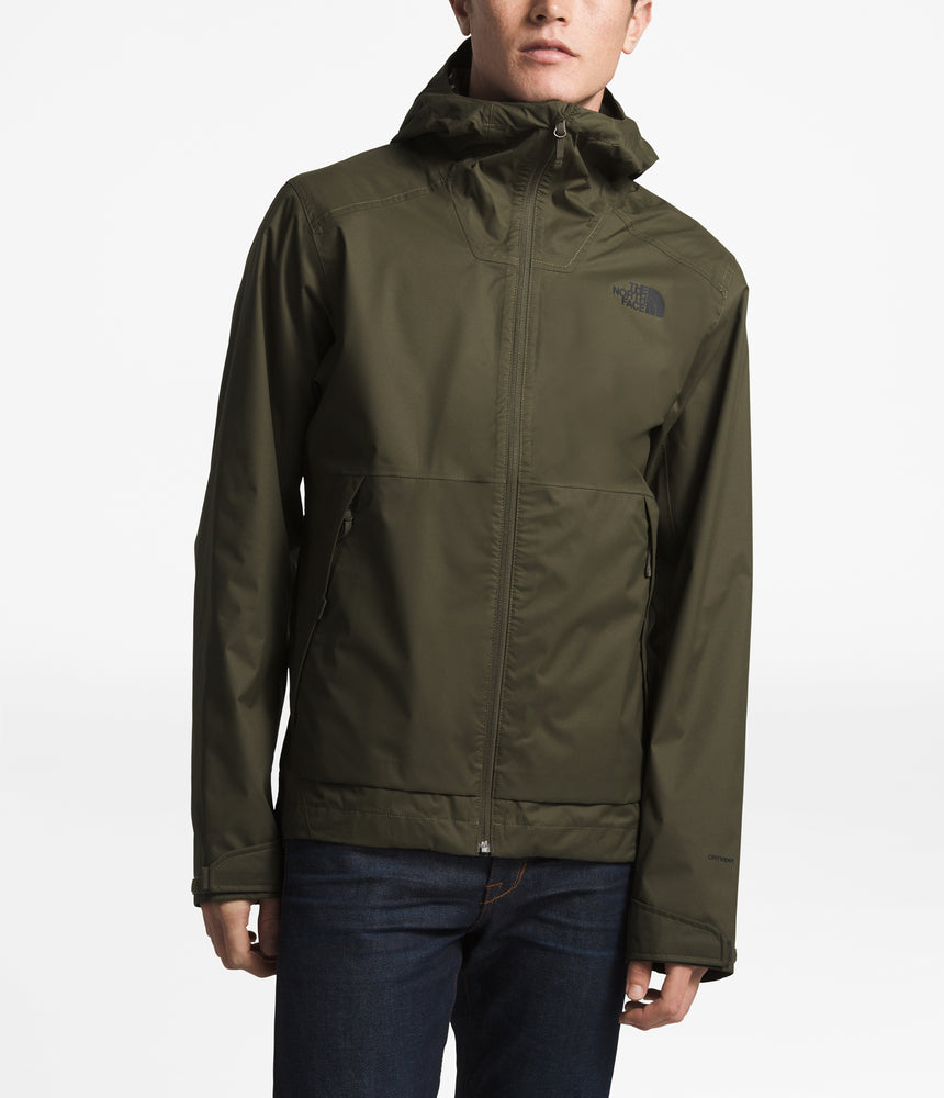 The North Face Men's Millerton Waterproof Jacket in New Taupe Green at Dave's New York