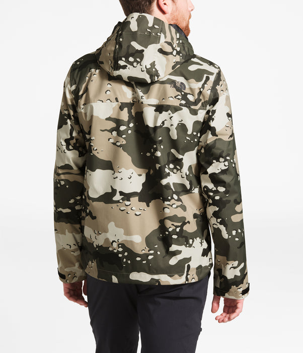 The North Face Men's Millerton Waterproof Jacket in Peyote Beige Woodchip Camo Print at Dave's New York