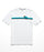 The North Face Men's Short Sleeve Retro Sunset Logo Tee - TNF White