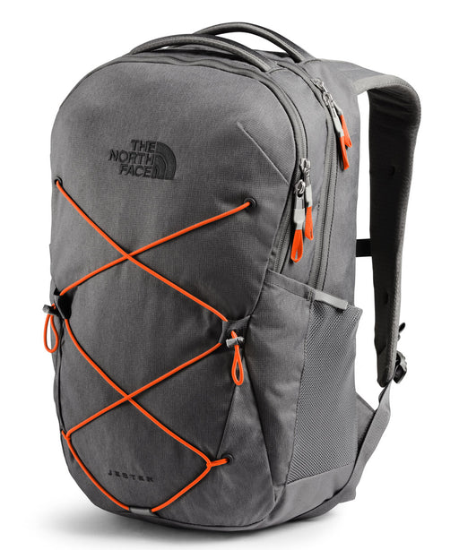 The North Face Jester Backpack - Zinc Grey Dark Heather