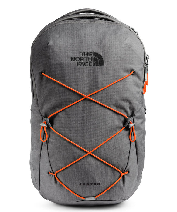 The North Face Jester Backpack in Zinc Grey Dark Heather at Dave's New York