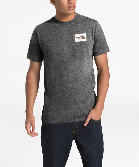 The North Face Men's Short Sleeve Heritage Novetly Tee - TNF Dark Grey Heather