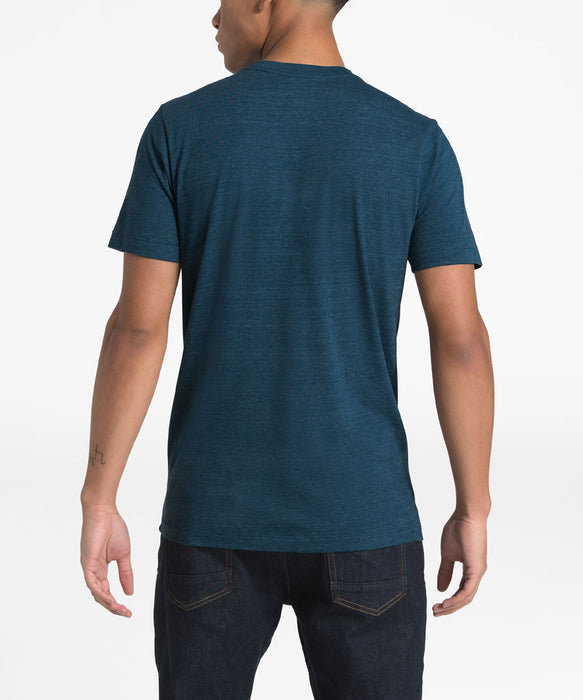 The North Face Men's Short Sleeve Our DNA Tee - Blue Wing Teal Heather