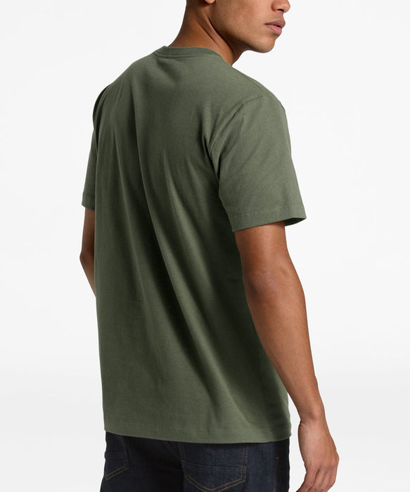 The North Face Men's Short Sleeve Reds Cotton Tee - New Taupe Green