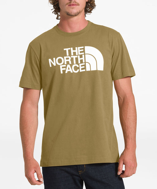 The North Face Men's Short Sleeve Half Dome T-shirt in British Khaki at Dave's New York