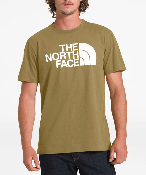 The North Face Men's Short Sleeve Half Dome Tee - British Khaki