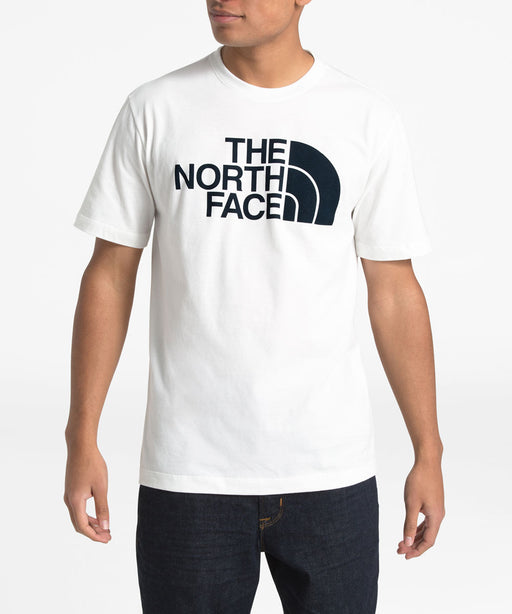 The North Face Men's Short Sleeve Half Dome T-shirt in TNF White at Dave's New York
