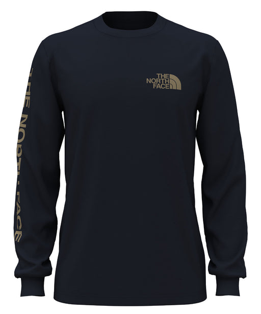 The North Face Men's Long Sleeve TNF™ Sleeve Hit Tee - Aviator Navy at Dave's New York
