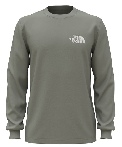 The North Face Men's Long Sleeve Box NSE Tee - Wrought Iron at Dave's New York