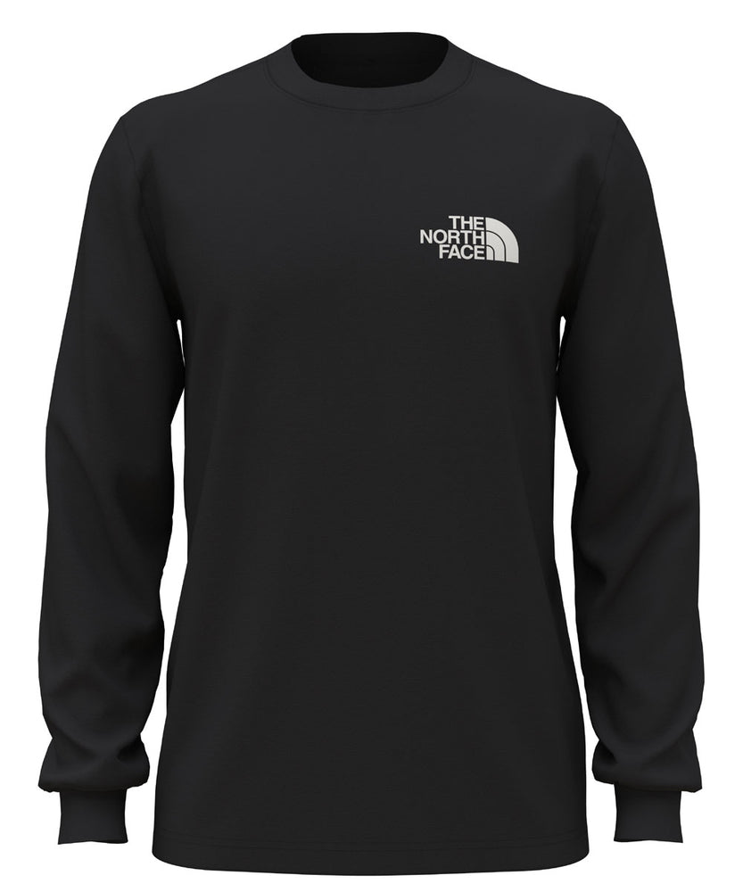 The North Face Men's Long Sleeve Box NSE Tee - TNF Black at Dave's New York