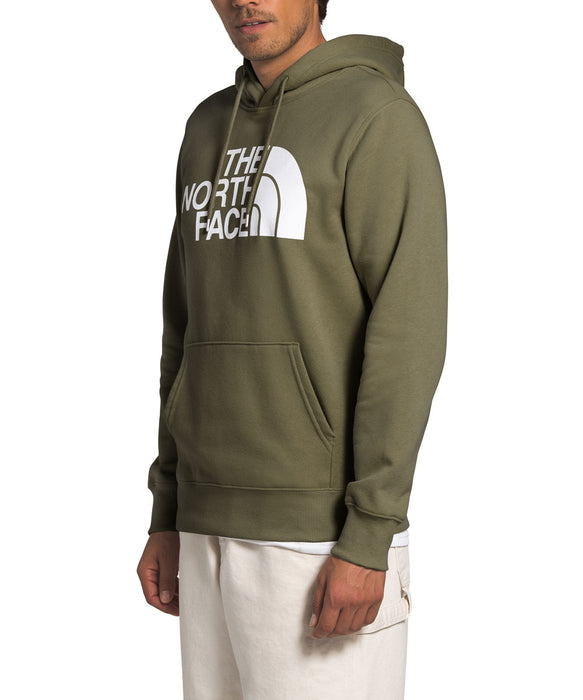 The North Face Men S Half Dome Pullover Hoodie Burnt Olive Green Dave S New York