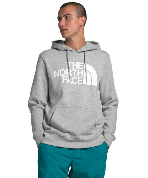 The North Face Men's Half Dome Pullover Hoodie Sweatshirt in TNF Light Grey Heather at Dave's New York