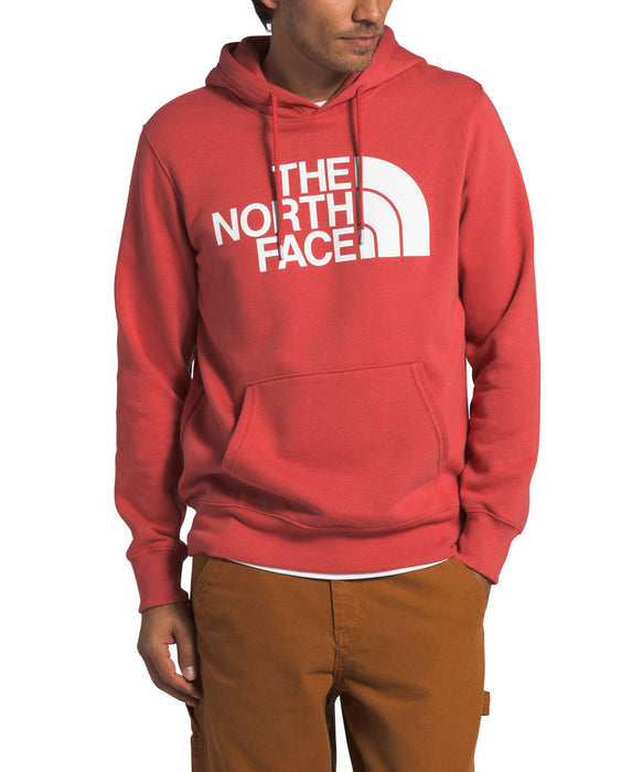 The North Face Men's Half Dome Pullover Hoodie -Sunbaked Red