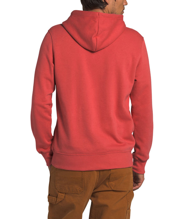 The North Face Men's Half Dome Pullover Hoodie Sweatshirt in Sunbaked Red at Dave's New York
