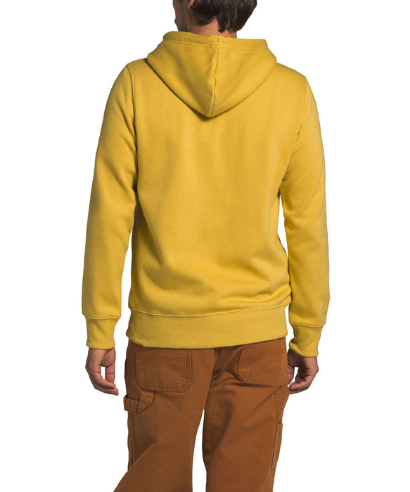 The North Face Men's Half Dome Pullover Hoodie - Bamboo Yellow