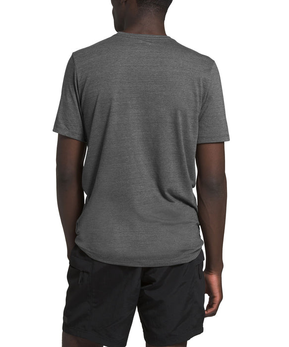 The North Face Men's Short Sleeve Half Dome Tri-Blend Tee - TNF Dark Grey Heather