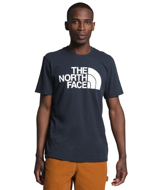 The North Face Men's Short Sleeve Half Dome T-shirt in Urban Navy at Dave's New York