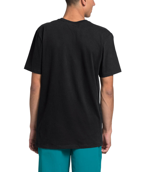 The North Face Men's Short Sleeve Half Dome T-shirt in TNF Black at Dave's New York