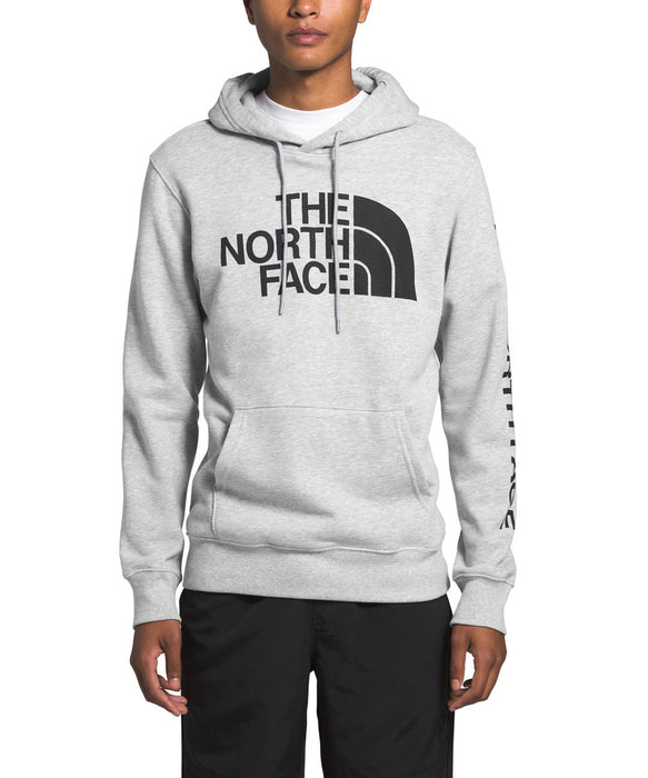 The North Face Men's TNF Pullover Hoodie Sweatshirt in TNF Light Grey Heather at Dave's New York