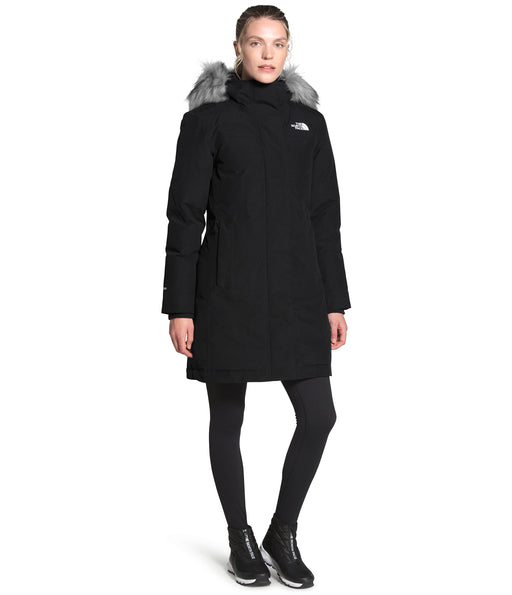 The North Face Women's Arctic Parka - TNF Black at Dave's New York