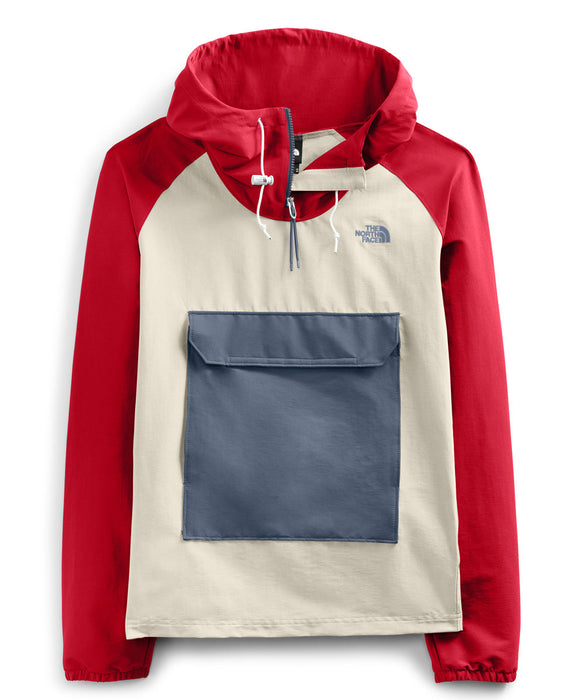 The North Face Men's Class V Fanorak Jacket - Rococco Red/Vintage White at Dave's New York