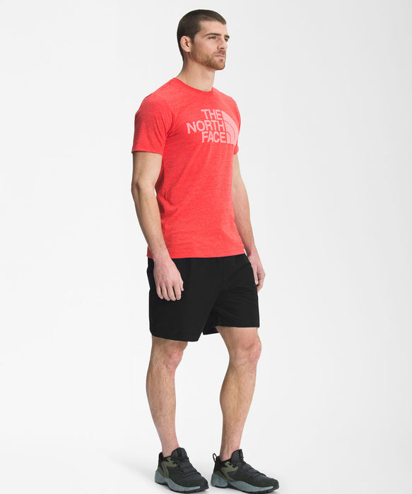 The North Face Men's Class V Shorts - TNF Black/Citronelle Green at Dave's New York