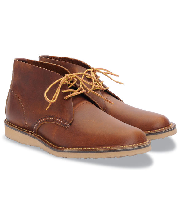 Red Wing Shoes Weekender Chukka Boots (3322) in Copper Rough and Tough at Dave's New York