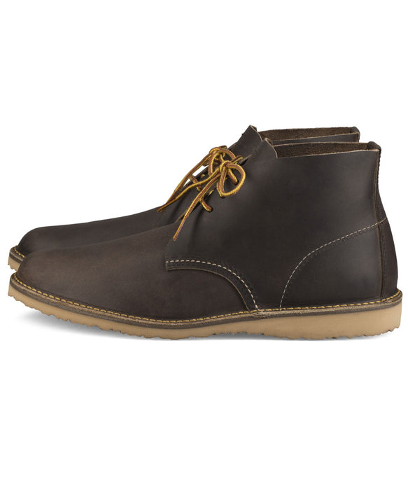 Red Wing Shoes Weekender Chukka Boots (3324) in Concrete Rough and Tough at Dave's New York