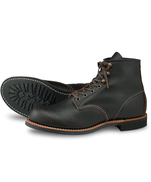 Red Wing Heritage Blacksmith Boots (3345) in Black Prairie Leather at Dave's New York