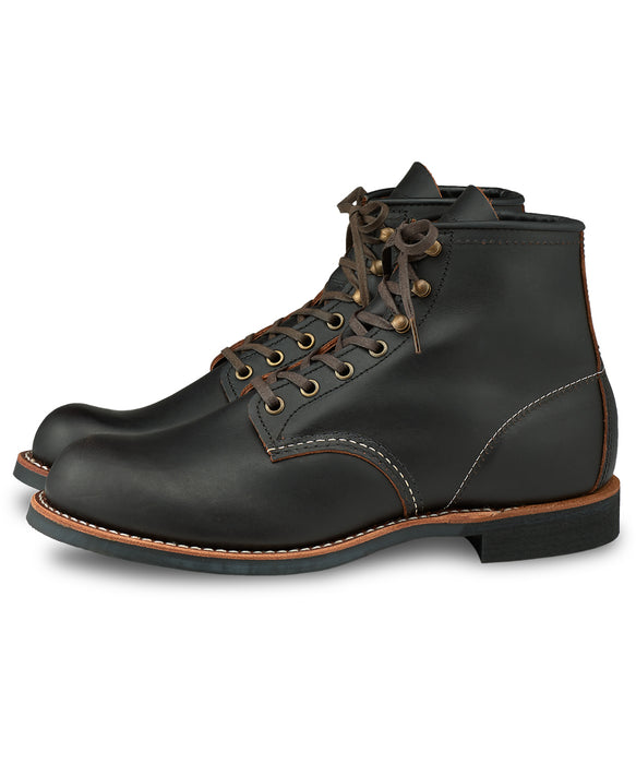 Red Wing Blacksmith Heritage Boots – 3345 - Black Prairie Leather