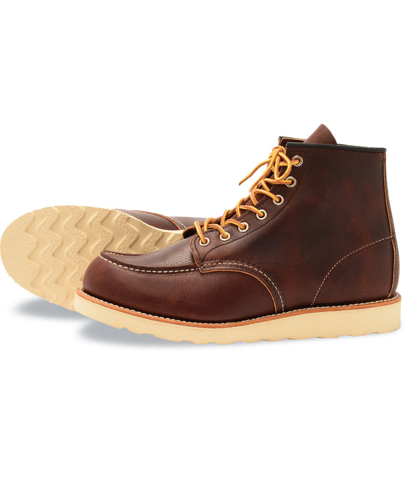 Red Wing Heritage 6-inch Classic Moc – 8138 in Briar Oil Slick at Dave's New York