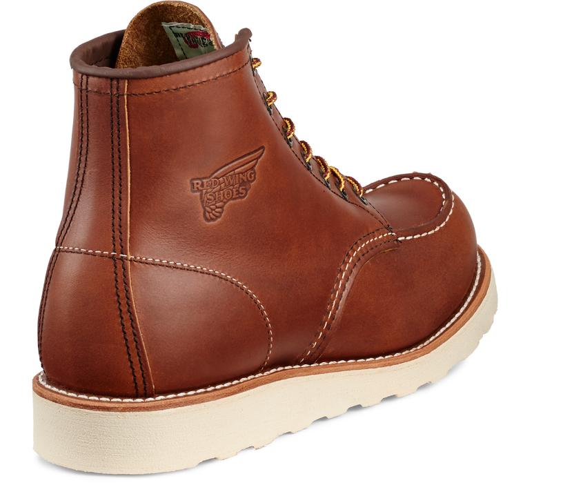 Red Wing 10875 Men's Classic 6 Inch Moc Toe Boot