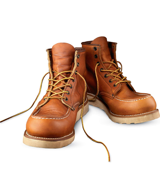 Red Wing Shoes Men's 10875 Classic 6-Inch Moc Toe Boots at Dave's New York