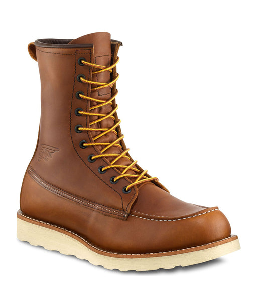 Red Wing Shoes (Model 10877) 8-inch Moc Toe Boots at Dave's New York