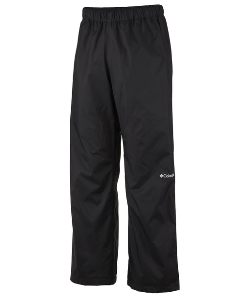 Columbia Men's Rebel Roamer Waterproof Rain Pant in Black at Dave's New York