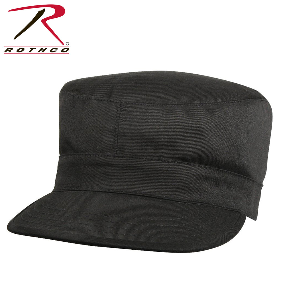 Rothco Fatigue Cap in Black at Dave's New York