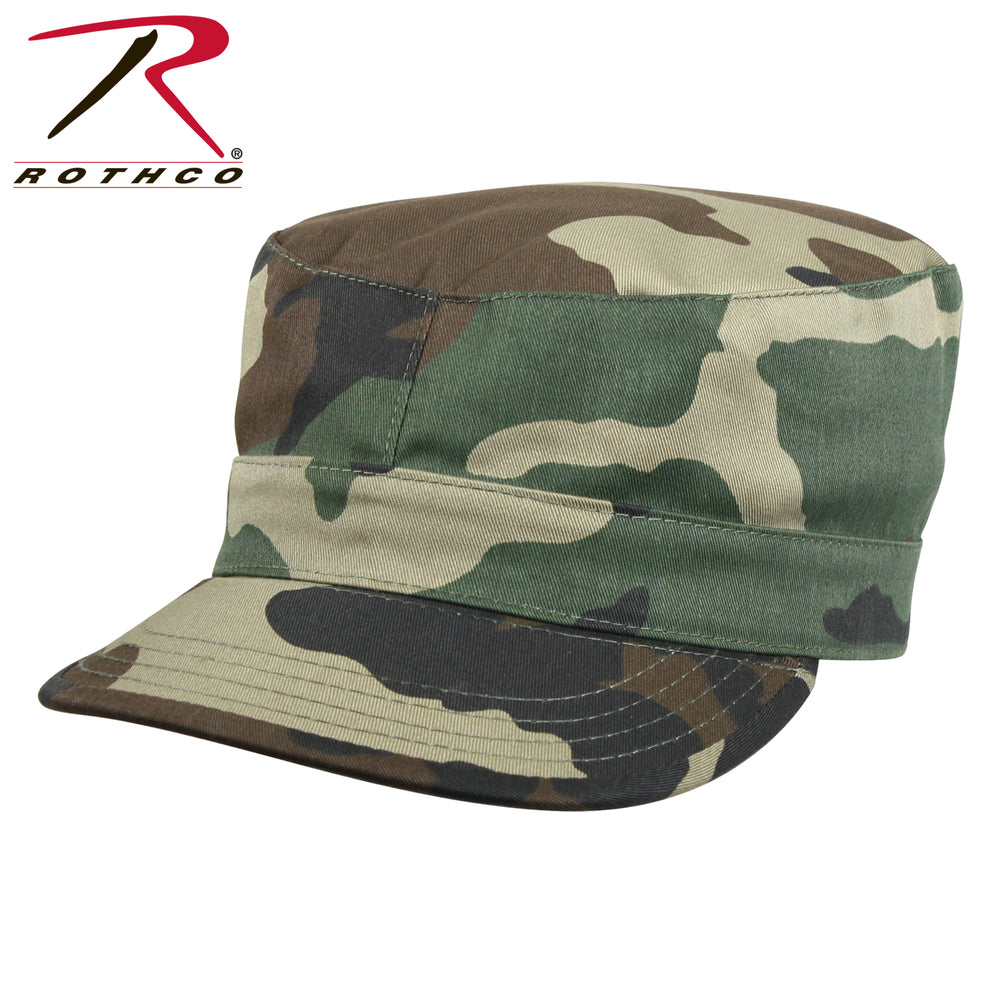 Rothco Fatigue Cap in Woodland Camo at Dave's New York